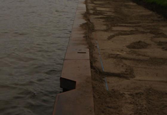 Laswerkzaamheden Damwand Amsterdam-Rijnkanaal